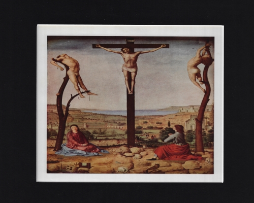 The Crucifixion by ANTONELLO DA MESSINA