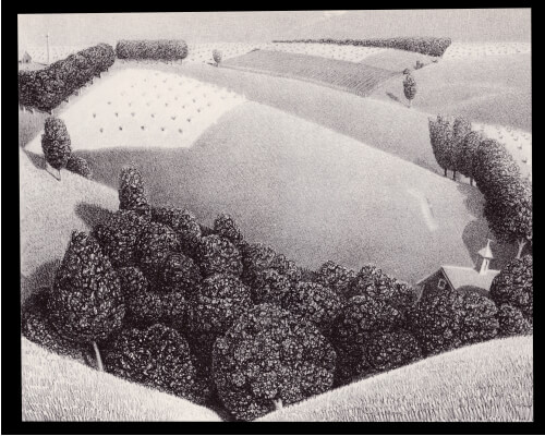 GRANT WOOD - JULY FIFTEENTH