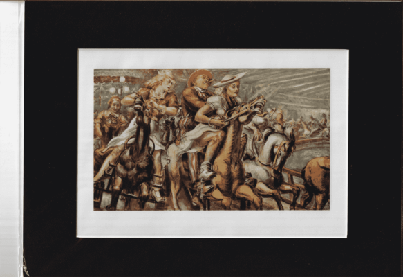 Wooden Horses by REGINALD MARSH