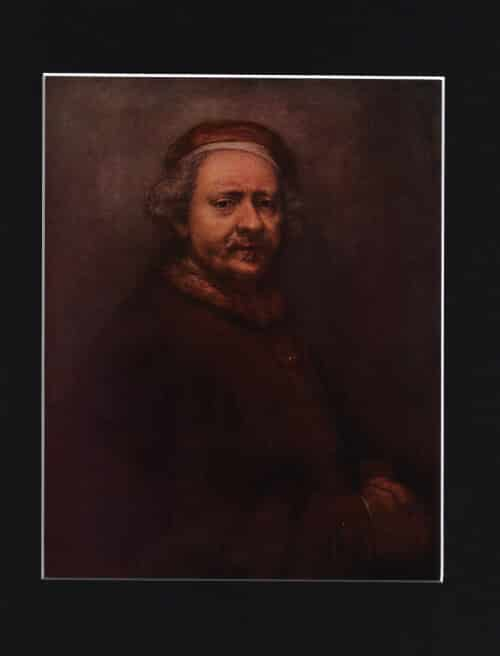 Portrait of Himself by REMBRANDT VAN RIJN {Dutch School}